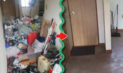 ゴミ屋敷のお掃除